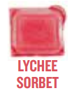 lychee sorbet wickfree scented candle bar scentsy