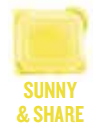 sunny and share wickfree scented candle bar scentsy