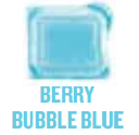 berry bubble blue wickfree scented candle bar scentsy