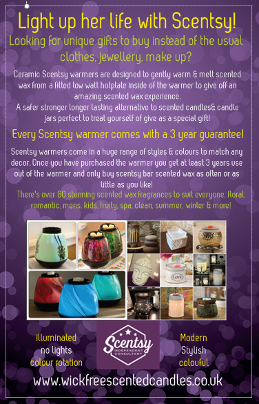 light up her life with scentsy warmers