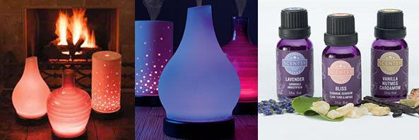 scentsy natural oils diffusers