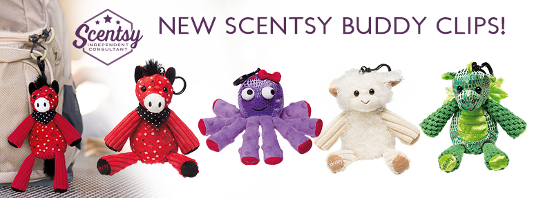 scentsy buddy clips scented teddies