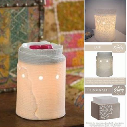wickless wickfree scentsy candle warmers