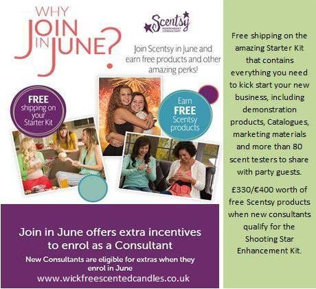 join scentsy as a consultant in june sell scentsy