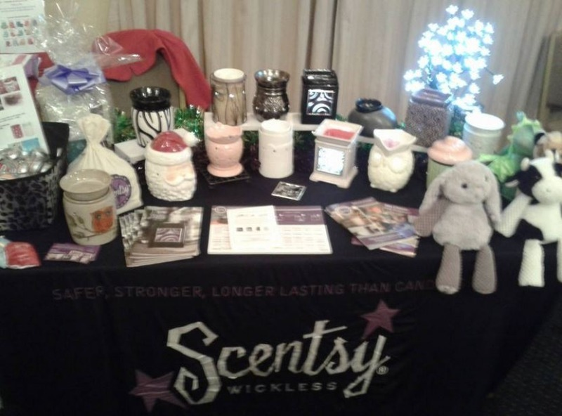 Book a scentsy stall at your event