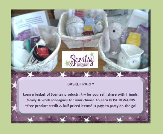 loan scentsy basket party
