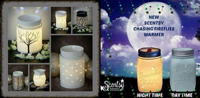 fab glow in the dark scentsy warmers
