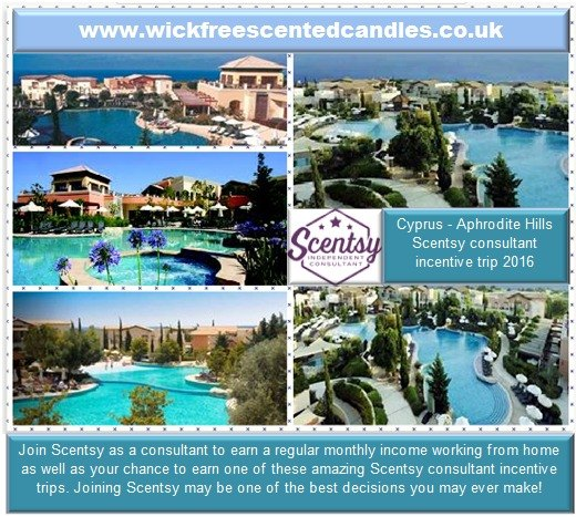 scentsy consultant incentive trip wick free scented candles