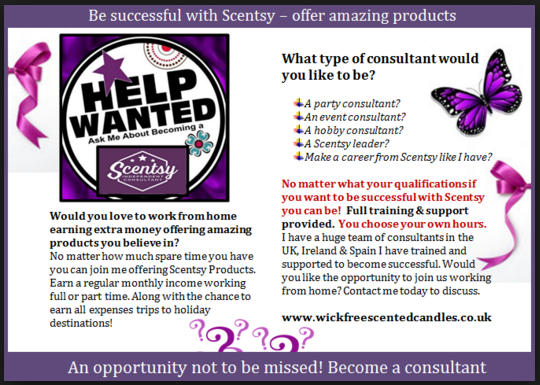 join scentsy start selling wickfree candles
