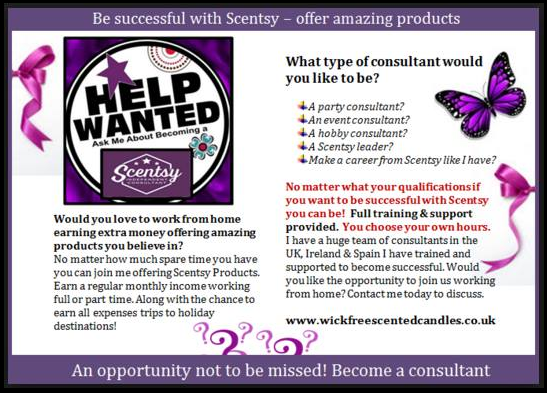 join scentsy sell candles become a consultant