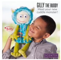 gilly scentsy buddy scented teddy