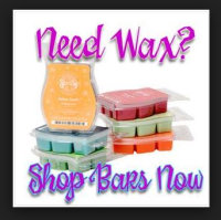 scented wax bar melts scentsy