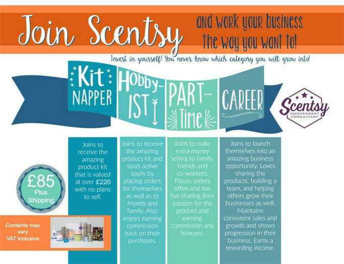 join scentsy the way you want