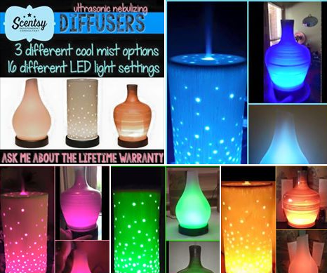 scentsy oil diffusers home fragrance