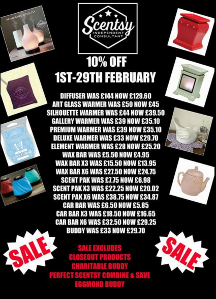 february scentsy sale