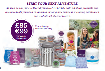 start your adventure with scentsy