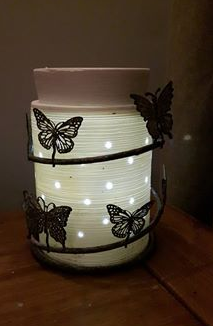 ethed core scentsy warmer lit up wickfree candle