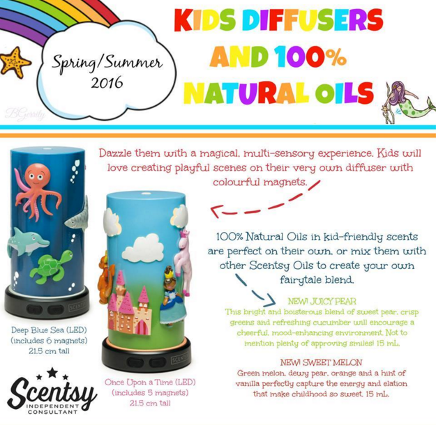 scentsy kids diffusers and natural oils wick free scented candles