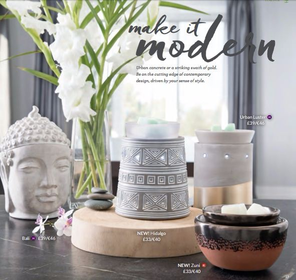 make it modern scentsy warmers new releases