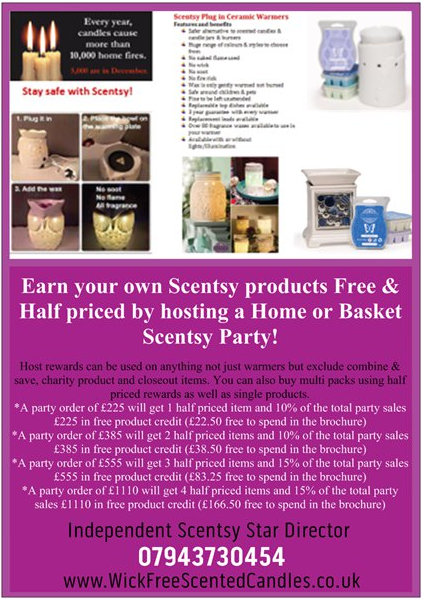 buy or host a home or basket party scentsy rewards info