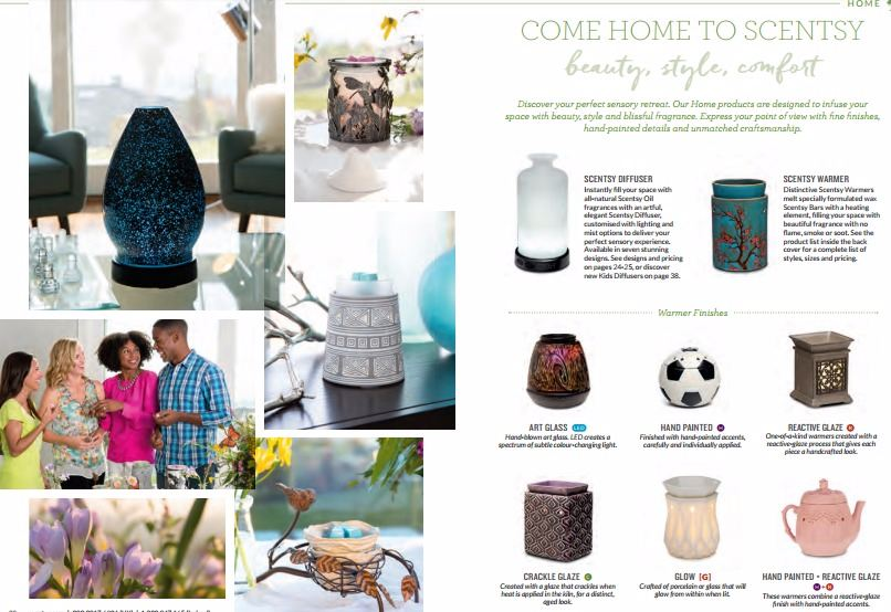 come home to scentsy beauty style comfort