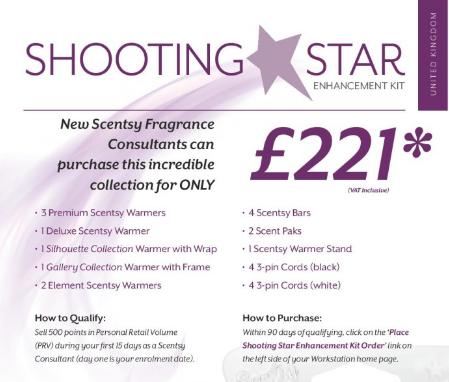 shooting star kit scentsy
