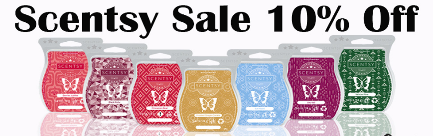 scentsy sale 10 percent off
