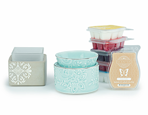 scentsy warmer and wax