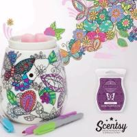 scentsy colouring warmer