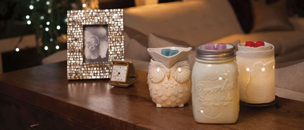 scentsy warmers banner wick free scented candles