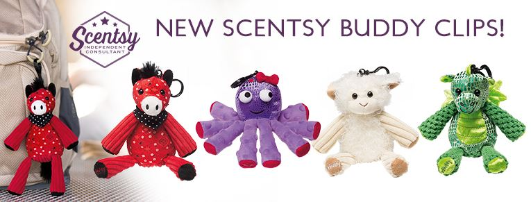 scentsy buddy clips banner wick free scented candles
