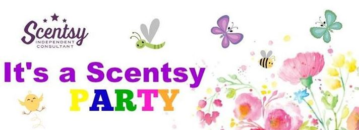 scentsy party banner wick free scented candles