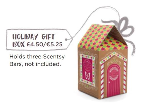 holiday gift box scentsy wick free scented candle gifts