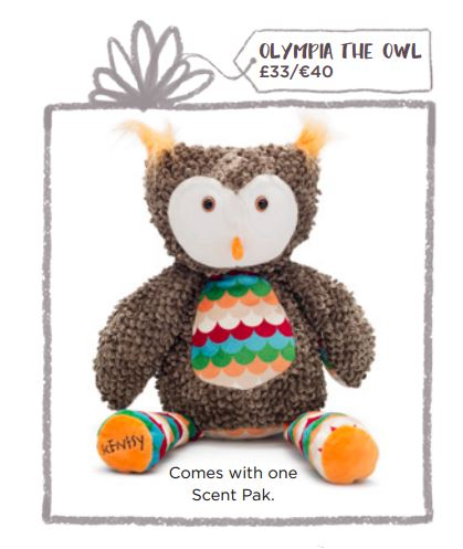 olympia the owl gift scentsy wick free scented candles