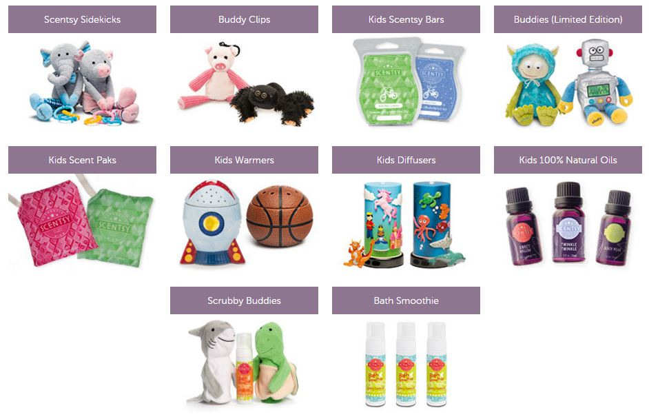 scentsy kids childrens