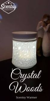crystal woods scentsy warmer wick free scented candles