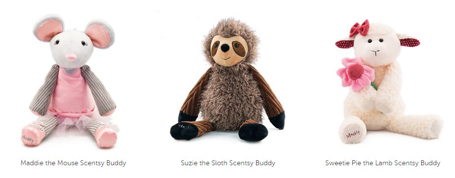 available buddies scentsy