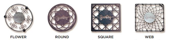 metal stands scentsy