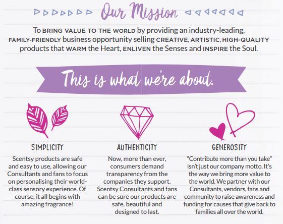 our mission scentsy
