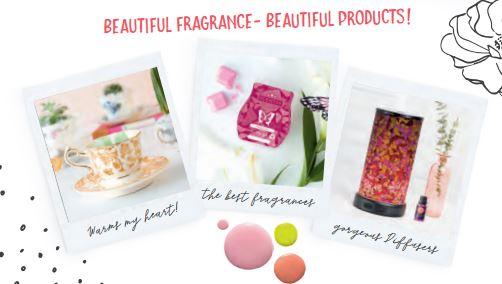 beautiful fragrance and products scentsy