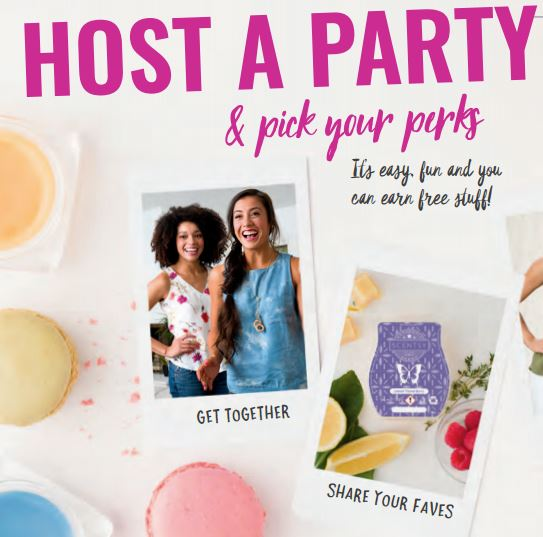 host a party scentsy