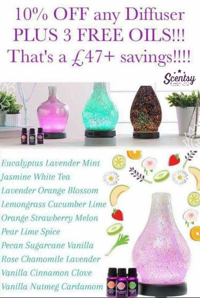 scentsy diffuser savings offer feb