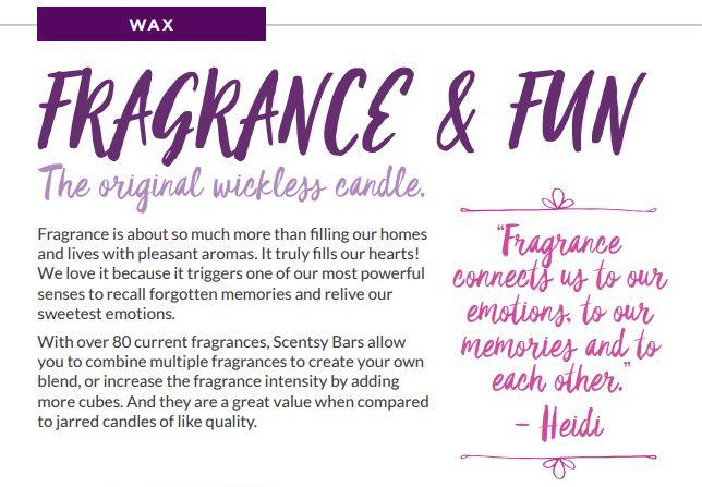 wax fragrance and fun