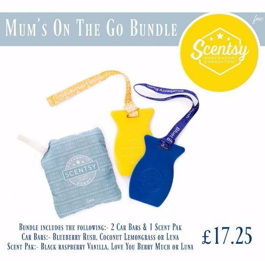 MUMS ON THE GO BUNDLE SCENTSY MOTHERS DAY
