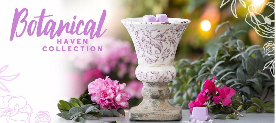 botanical haven collection scentsy