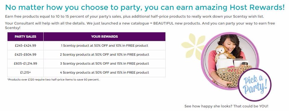 Earn Free Half Priced Scentsy Products Gifts