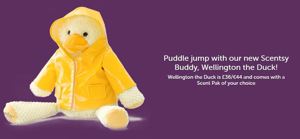 wellington scentsy buddy wick free scented candles
