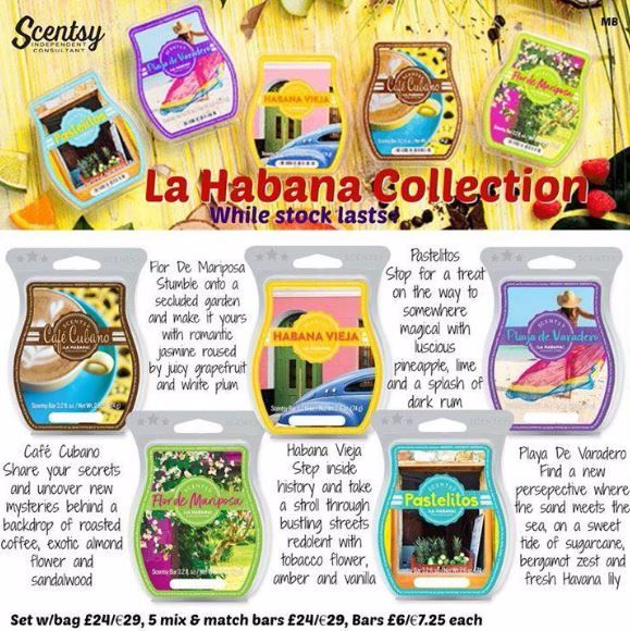 la habana collection scentsy wick free scented candles
