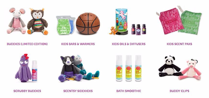 scentsy kids wick free scented candles