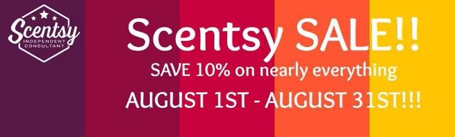 SCENTSY SALE WICK FREE SCENTED CANDLES